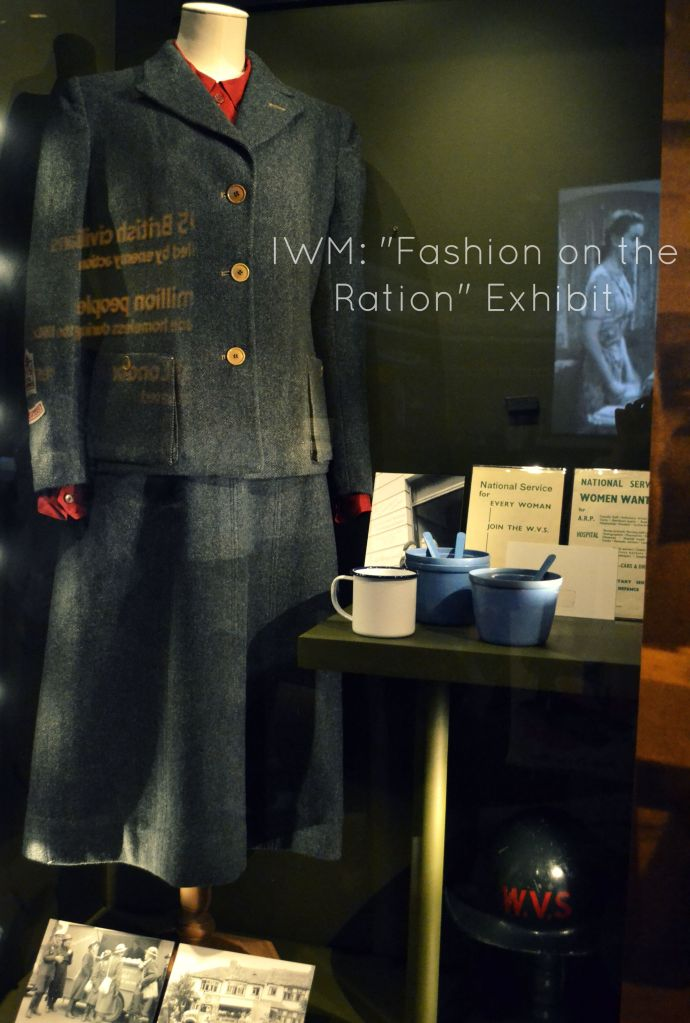 Fashion on the Ration Title
